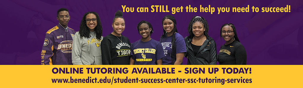You can STILL get the help you need to succeed! Online tutoring available - sign up today!