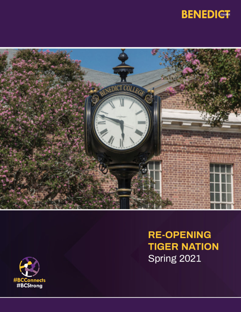 Re-Opening Tiger Nation Spring 2021